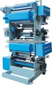 Gravure printing machinery with double blower to printing 6 colors