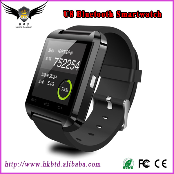 U8 Wrist Bluetooth Smart Watch Phone with Touch Screen SIM Watch Phone