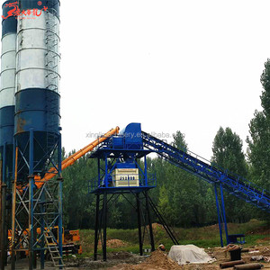 HZS60, 60m3 concrete mixer for sale concrete batching plant with ISO9001