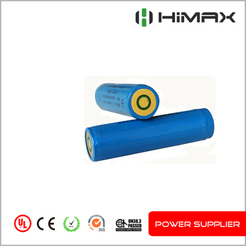 Rechargeable Lithium ion 18650 Battery 3.7V 2200mAh