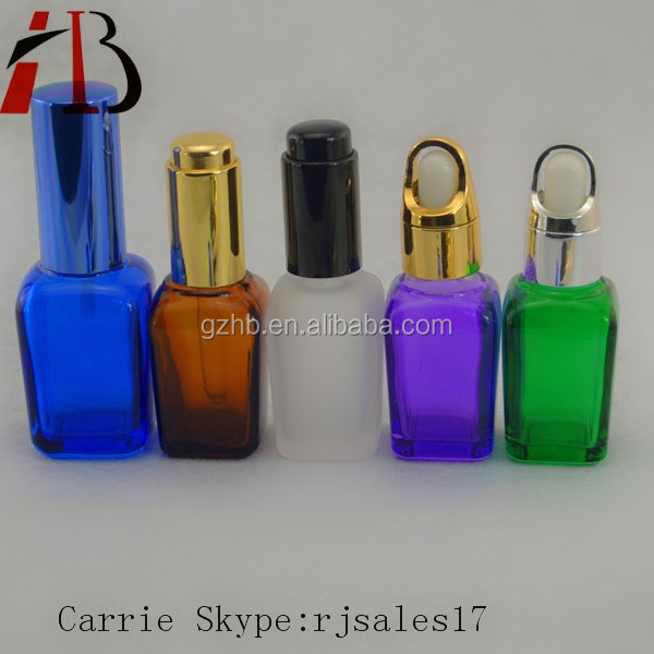 50ml clear amber green blue glass essential oil bottle,essential oil bottle with dropper pipette,cooking oil glass bottle