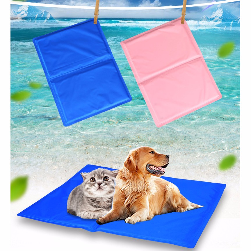 New pet gel cooling pad dog sleep cold bed for cage