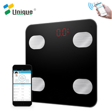 high quality 180kg digital body weight electronic personal scales with Bluetooth APP