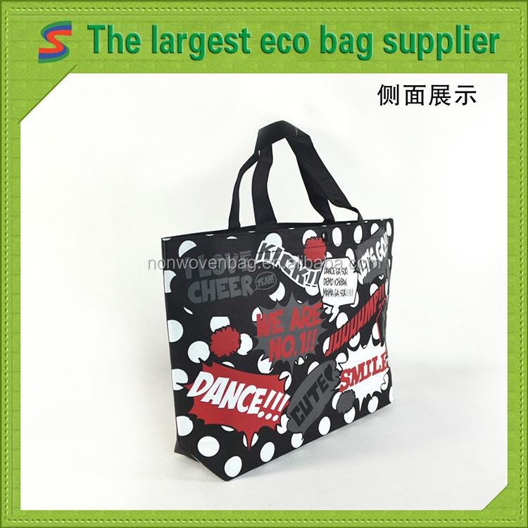 New Design Nonwoven Bag Recycle Foldable Non Woven Bag