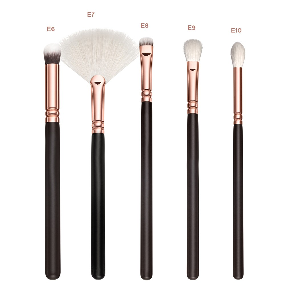 Professional 15 PCS PU Leather Bag Packed Soft Comestic Makeup Brush Set