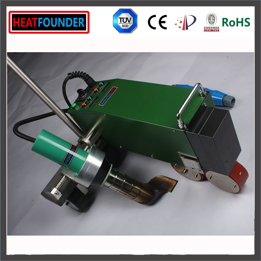 Hot Wedge Tarpaulin Sealing Welding Machines for Sale