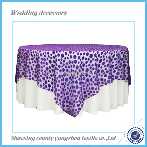 white polyester table cover with skirt export to US