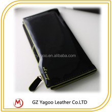 wholesale woman handmade leather wallets / pu leather wallet