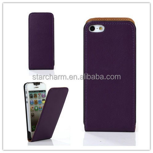 Alibaba China Sublimation Flip Leather Case for iphone5/5S