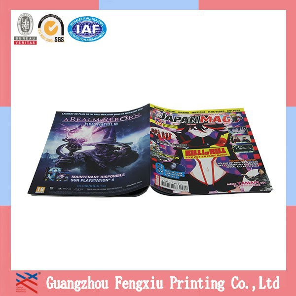 Protection Cmyk Publishing Adult Printing Chinese Magazine