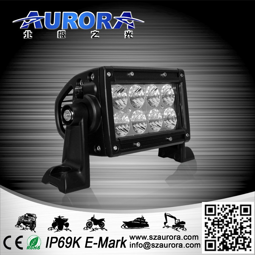 Cheap and good AURORA 4inch double row 40w auto led off road light bar