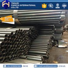 building materials ! sch 80 steel pipe 88.9x1.9mm black tube with high quality