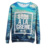 custom all over print crewneck sweatshirt loose and leisure hoody sweatshirt