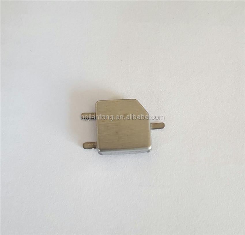 Metal shielding case for GPS
