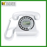 Rugged Phones Basic Corded Telephone Vintage Telephone Decorative for Home Hotel