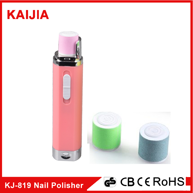 Battery operated electric nail file