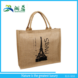 high quality eco friendly recycle natural plain jute bag
