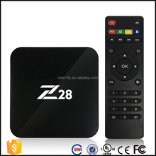 Android7.1 Z28 RK3228 Quad Core 2GB 16GB Android Z28 Smart TV Box In Set Top Box
