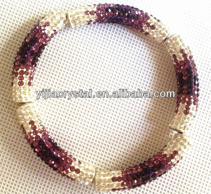 shamballa beads tube pave beads crystal rhinestone/Crystal disco Ball