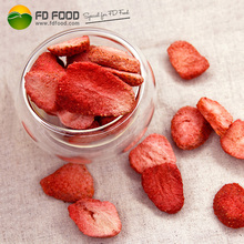 Common Vacuum Fruit Snack Meals Or Powder Freeze Dried Food Strawberries