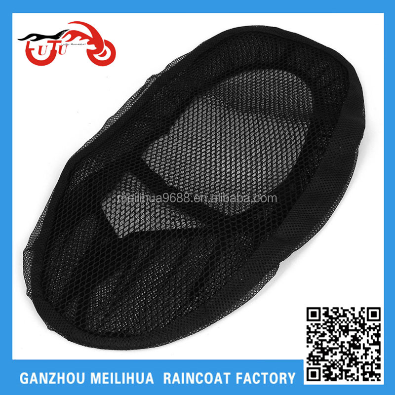 Custom Motorcycle Seat Cover/ Antislip Breathable Mesh Seat Saddle Cover for Scooter and Motorcycle