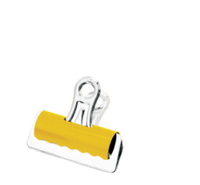 colorful metal bulldog clips stationery