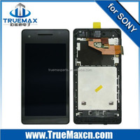 Hot Selling for Sony Xperia V LT25i LCD Assembly With Frame, LCD with Digitizer Assembly