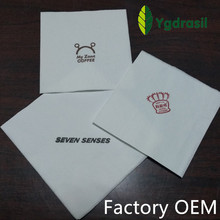 factory custom paper napkin with logo