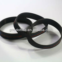 round shape clear silicone band for giftware