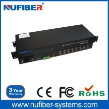 For CCTV Camera 16 Channels Fiber Optical Digital Video Converter