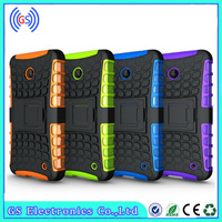 wholesale fashion hybrid pc tpu OEM custom cover case for nokia lumia 520 521