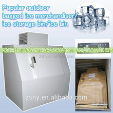 Popular outdoor bagged ice merchandiser/ice storage bin/ice bin