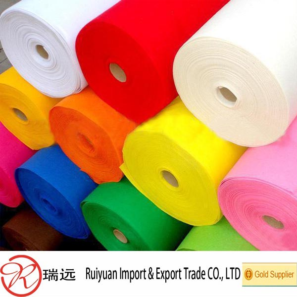 Factory direct wholesale 5mm wool roll felt from China supplier