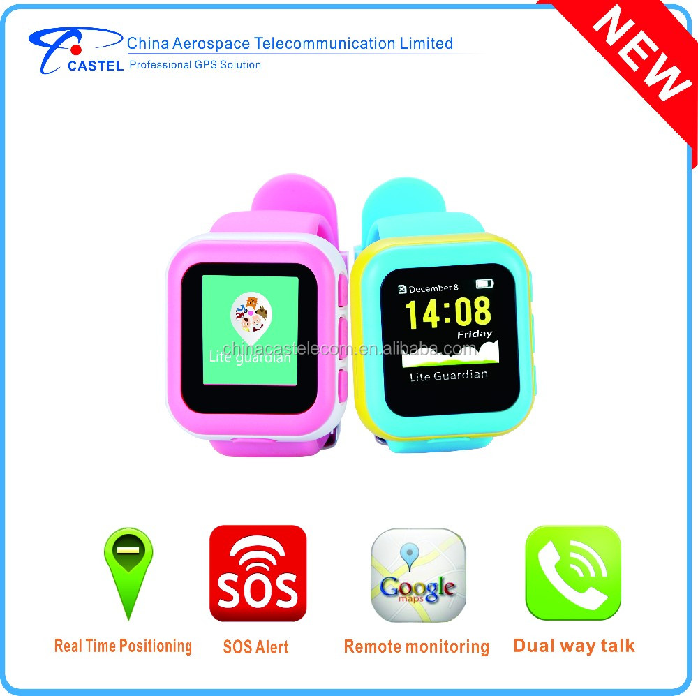 Wrist GPS Watch Tracker/GPS Tracking Device for Kids Tracking PT720