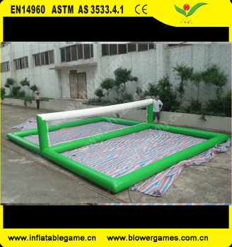 high quality inflatable volleyball court water game Exported to Worldwide