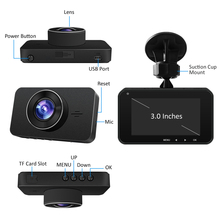 Taxi 1080P dashcam G6 IMX323 Car black box Built in GPS