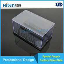 Clear acrylic boxes wholesale acrylic lego display case funko pop display stands