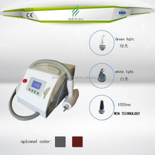 Alibaba whoiesale Q Switched ND Yag laser tattoo removal and pigmentations reduction machine
