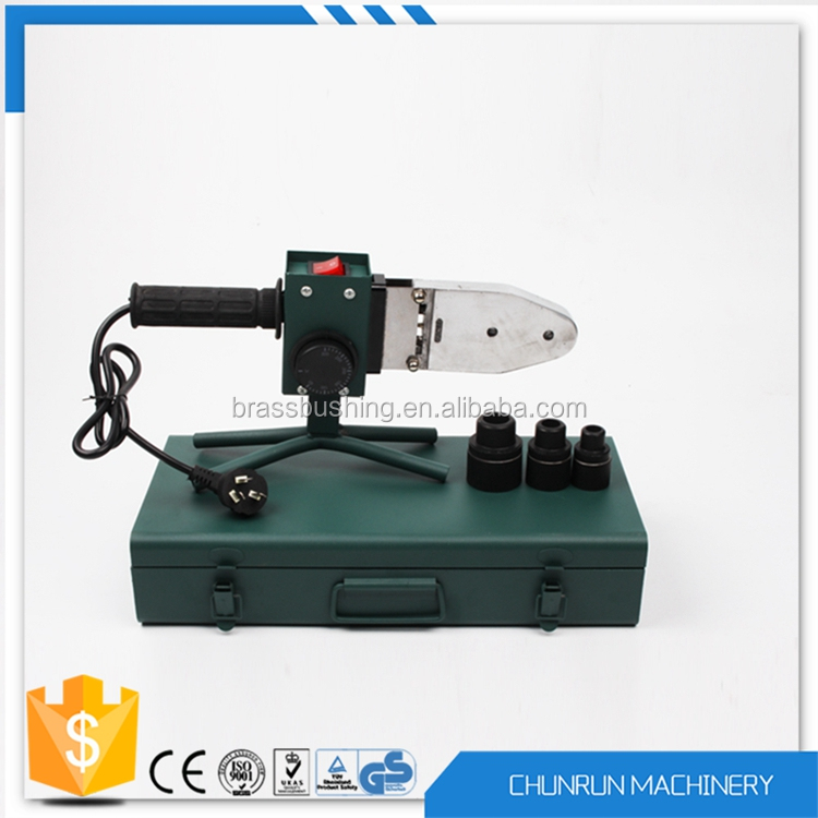 CR-W102 automatic ppr hepe pe pvc pipe welder tool plastic pipe heat fusion welding machine