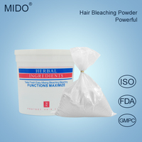 China Hair Color Bleach Powder Private Label Wholesale Price White And Blue Bleach Powder For Hair
