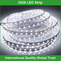 High quality dc 12v smd 3528 led strip 4.8 watt per meter
