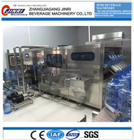 19L bucket mineral water production line/450bph 5 gallon bottle filling machine