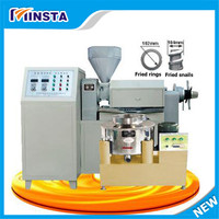 New larger output sunflower seed oil press machine for small business
