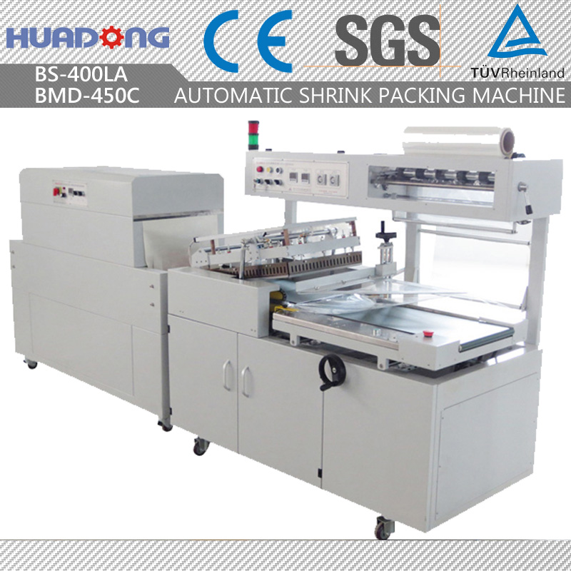 Automatic Paper Plate Cup Heat Shrink Wrapping Machine Thermal Packing Machine