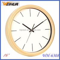 16 inch quartz analog plastic clock