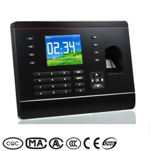 2.8 inch tft color lcd network card panke fingerprint recorder and time