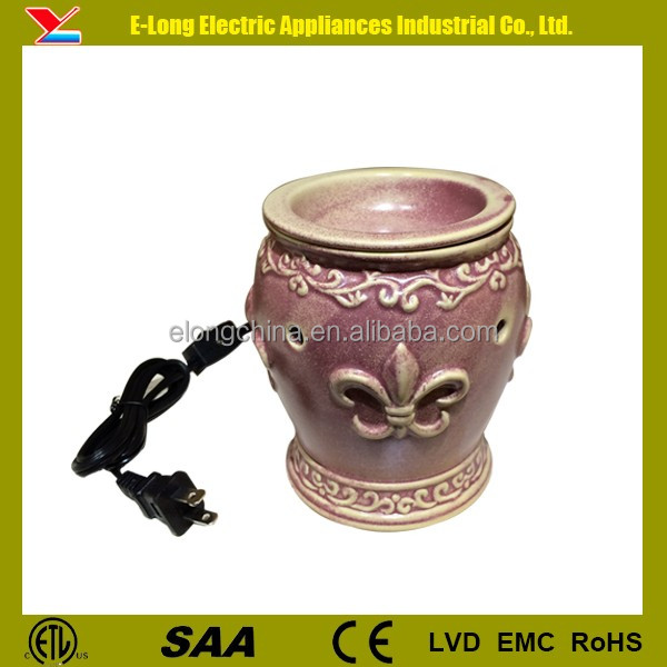 Electric fragrance lamp warmer