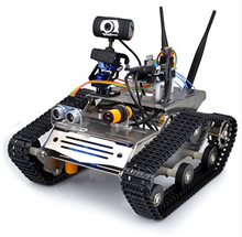 Wireless Wifi Robot Car Kit for Uno / Hd Camera Ds Robot Smart Educational Robot Kit for Kids