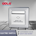 Hotel power key card switch power saver wall switch
