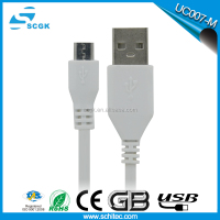 new products Blue light led micro usb cable with high quality